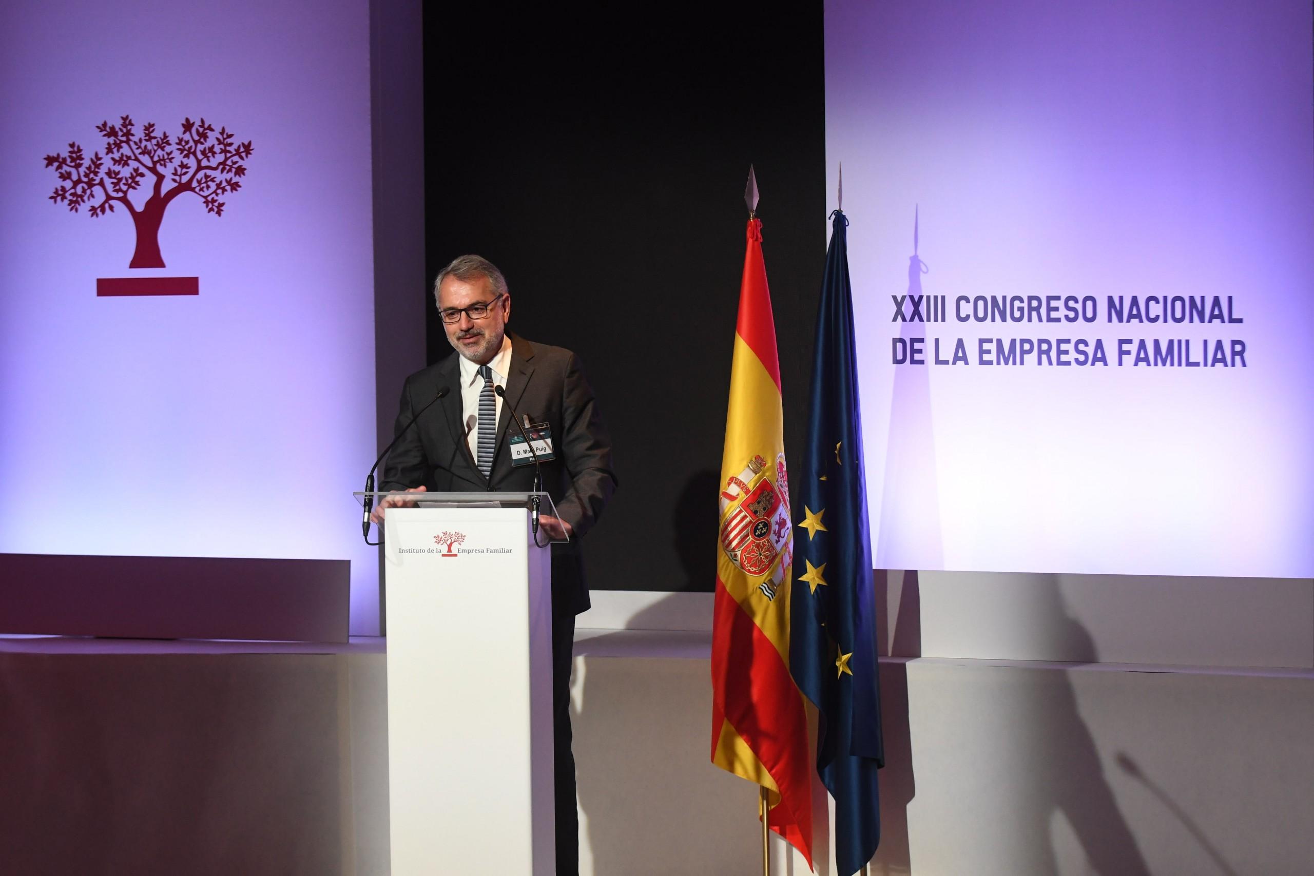 Marc Puig, president de l'IEF