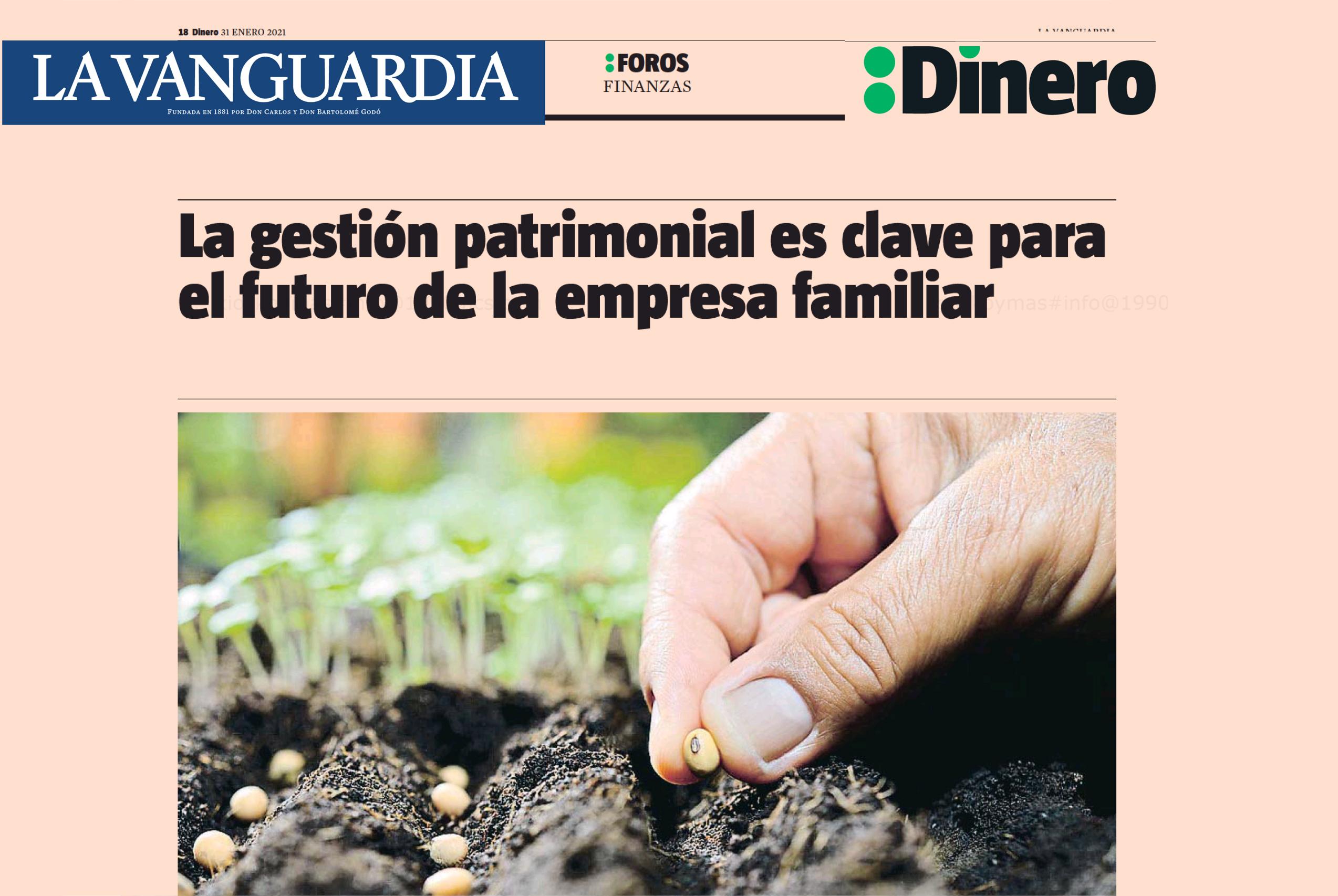 Gestió patrimonial - Dinero La Vanguardia
